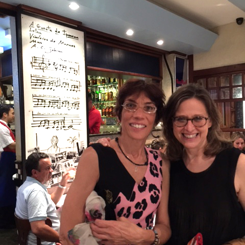 "Garota de Ipanema - taken in Rio in the club where Jobim wrote ""Girl from Ipanema"""