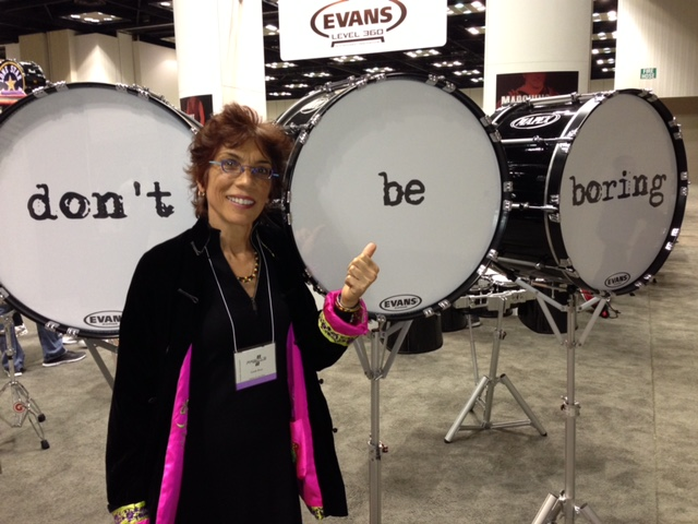Rose presented at PASIC (Percussive Arts Society) in 2012