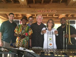 RoseOnVibes Africana at Amber Falls Winery