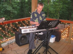 Kevin Sanders at Amber Falls Winery 2012